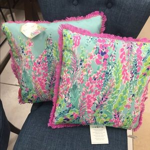🌴Lilly Pulitzer🌴 Pillows!
